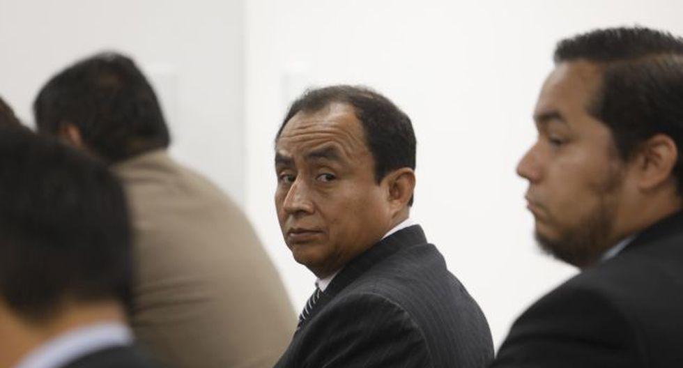 Gregorio Santos insistió en su inocencia en el juicio.