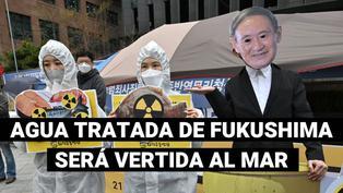Japón verterá al mar agua tratada de la central nuclear de Fukushima en 2023