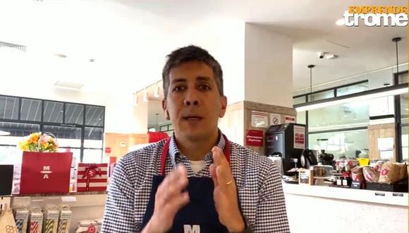 Programa 'Emprende Trome' trae esta semana una emotiva entrevista al gerente de la pastelería 'Maria Almenara'