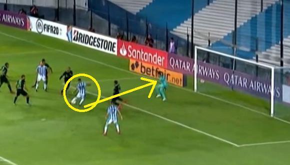 Alianza vs Racing: Atajada de Leao Butrón (Video: ESPN) (Trome)