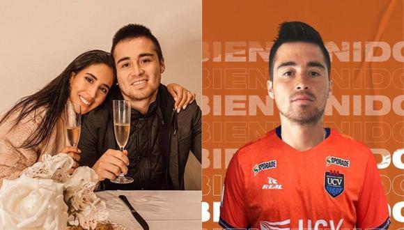 Melissa Paredes felicita a su esposo Rodrigo Cuba por su ingreso a la César Vallejo. (Foto: @melissapareds/@gatocuba16)