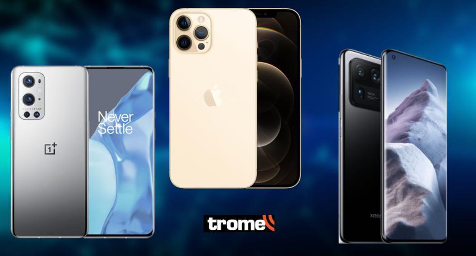 Conoce los mejores smartphone gama alta y premium al mejor precio (Abril 2021)