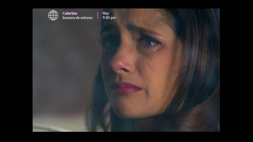 Dante y Ana se despidieron tristemente. (América TV)