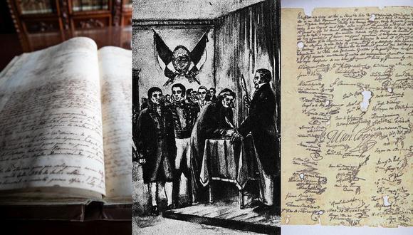 El Acta de Independencia fue firmada el 15 de julio de 1821. A 200 años de su declaración, el documento se conserva en la Municipalidad de Lima. (Fotos: MML)