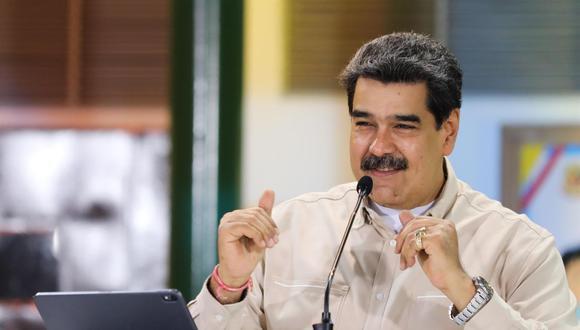 Imagen muestra a Nicolás Maduro. (Foto referencial: EFE)
