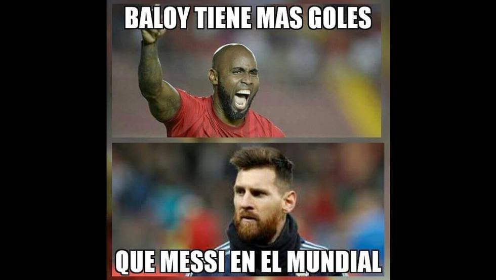 Lionel Messi nuevamente es blanco de las burlas luego que Felipe Baloy anotara el primer gol de Panamá en su historia en Rusia 2018.