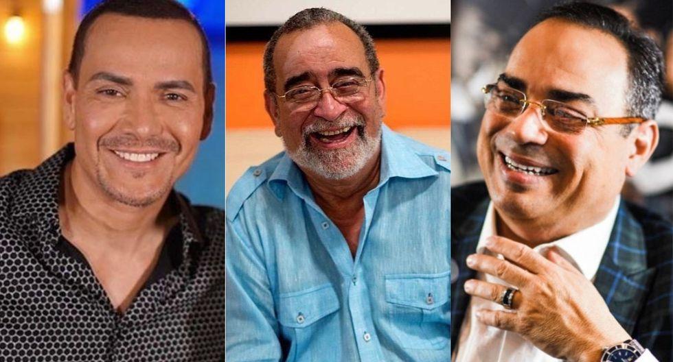 Gilberto Santa Rosa, Andy Montañez, Victor Manuelle entre otros en un solo escenario (Foto: Instagram)
