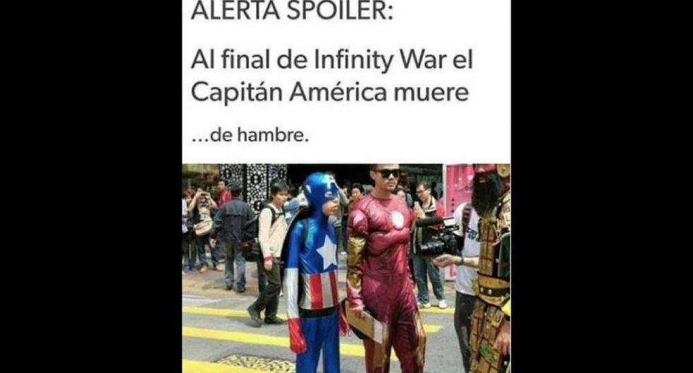 El estreno de Avengers: Infinity War ocasionó la más divertida batalla de memes para todos los gustos.