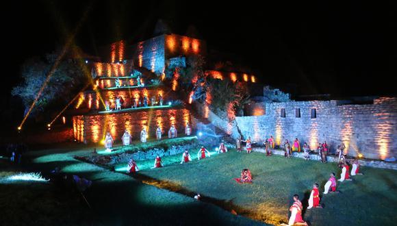 Machu Picchu sorprendió con espectáculo de colores en su ceremonia de reapertura (Foto: Juan Sequeiros)