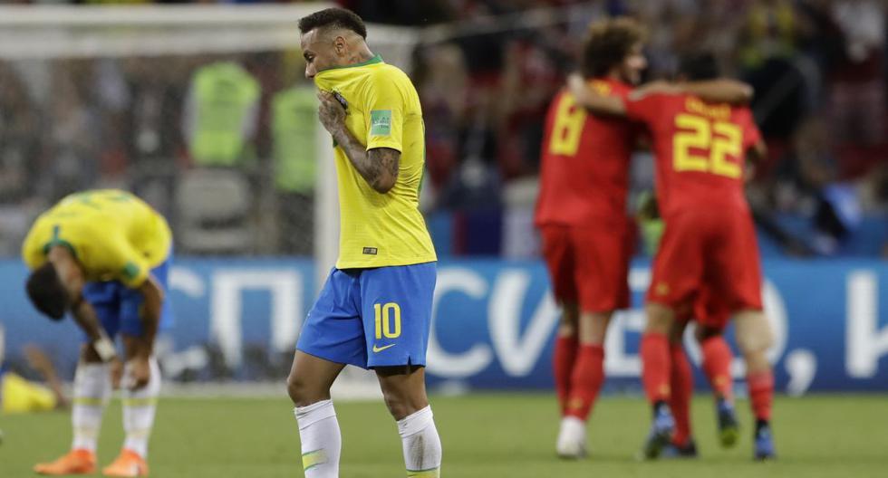 Neymar eliminado del Mundial Rusia 2018 con Brasil