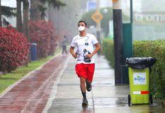 Coronavirus                         en Perú: Médico advierte peligro de correr con                         mascarilla | VIDEO | FOTOS