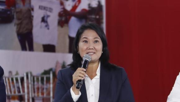 """Fujimori Higuchi indicó que el también exdiputado ejercerá esta función ad honorem y le agradeció por su """"defensa de la Constitución y la legalidad"""". (Foto: GEC)"""