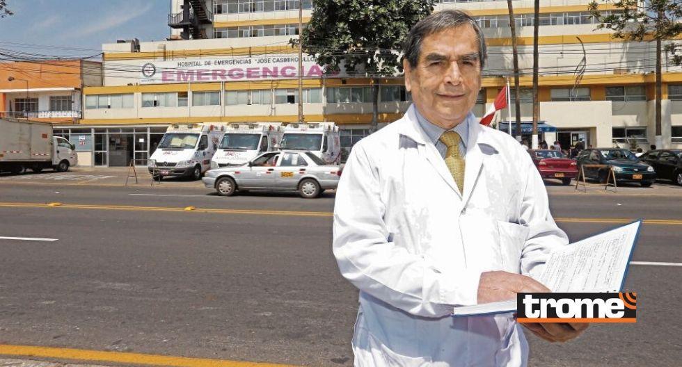 Dr. Oscar Ugarte habló con Trome sobre la pandemia del coronavirus en el Perú