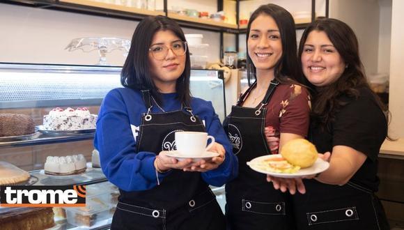 Hermanas sacan adelante su pastelería Vero´s en San Martín de Porres. (Foto: Trome)