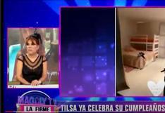 """Magaly Medina se burla de Tilsa Lozano por ampay de Jackson: """"La vida se encargó de castigarla por hacer llorar a Blanca, la esposa del Loco Vargas"""""""