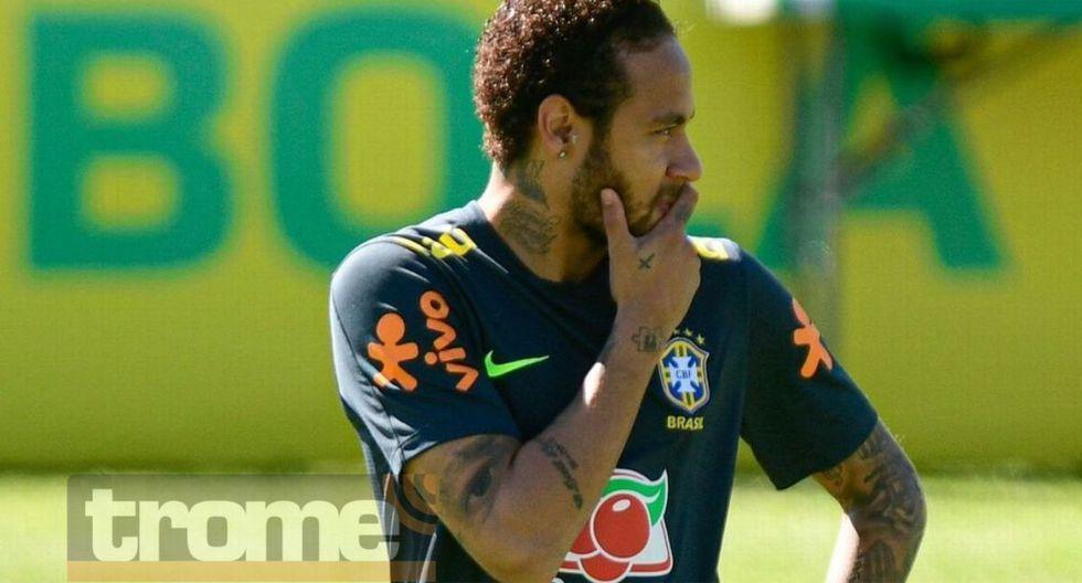 Policía de Brasil fue a buscarlo a entrenamiento para que entregue su celular