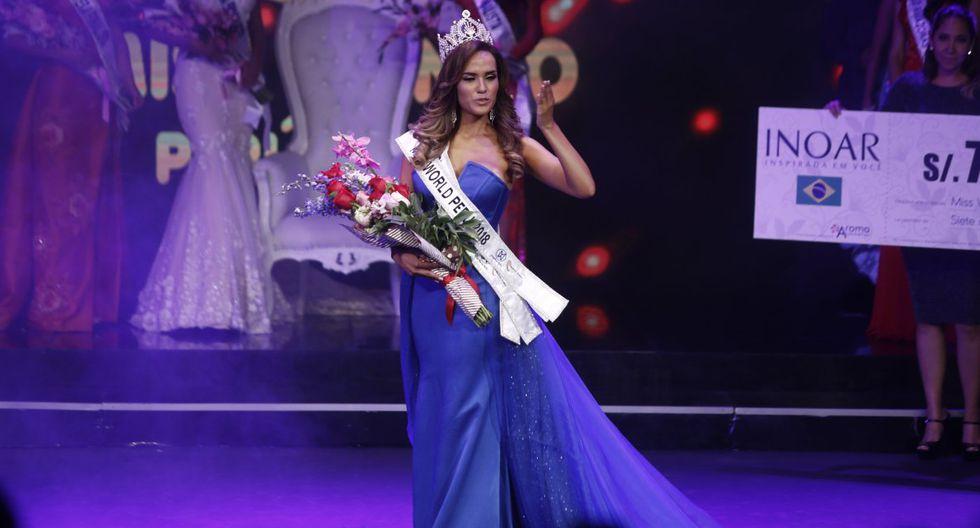 Actual Miss Perú Mundo no tiene título universitario y deberá devolver corona que ganó en concurso. (Fotos: USI)