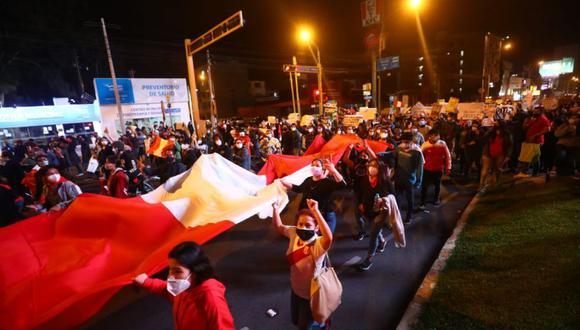 Marcha Nacional contra el gobierno de Manuel Merino | Gonzalo Córdova / @photo.gec