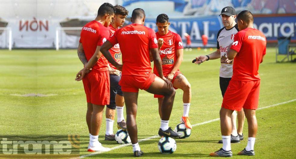 selección peruana entrenó sin la presencia de Ricardo Gareca