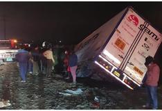 La Libertad: Dos personas pierden la vida tras choque entre camión y auto
