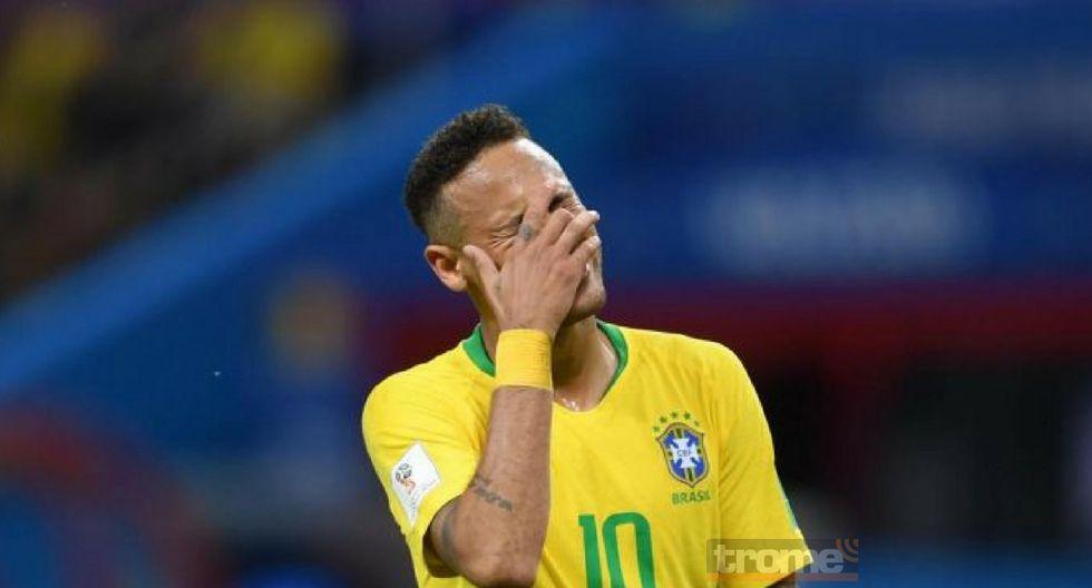 Neymar fue borrado de la lista de premios The Best