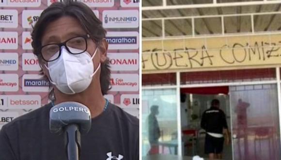 Ángel Comizzo habló sobre ataque de hinchas de Universitario en Campo Mar.