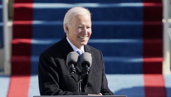 Con la llegada de Joe Biden, la página web de la Casa Blanca habilitó su versión en español. (Foto: PATRICK SEMANSKY / POOL / AFP)