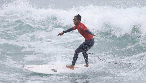 María Fernanda ganó medalla de plata. (Foto: Alessandro Currarino)