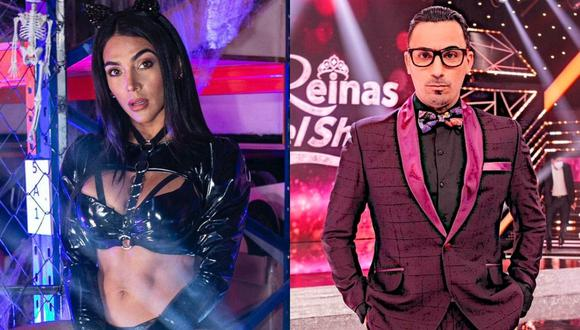 """Vania Bludau le responde a Santi Lesmes por sus críticas en """"Reinas del show"""". (Foto: GV Producciones)"""