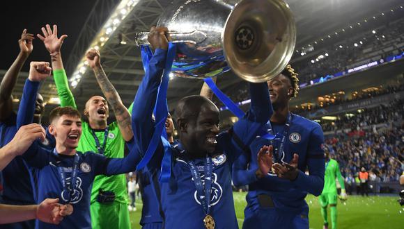 El Chelsea derrotó al Manchester City en la gran final de la Champions | Foto: REUTERS