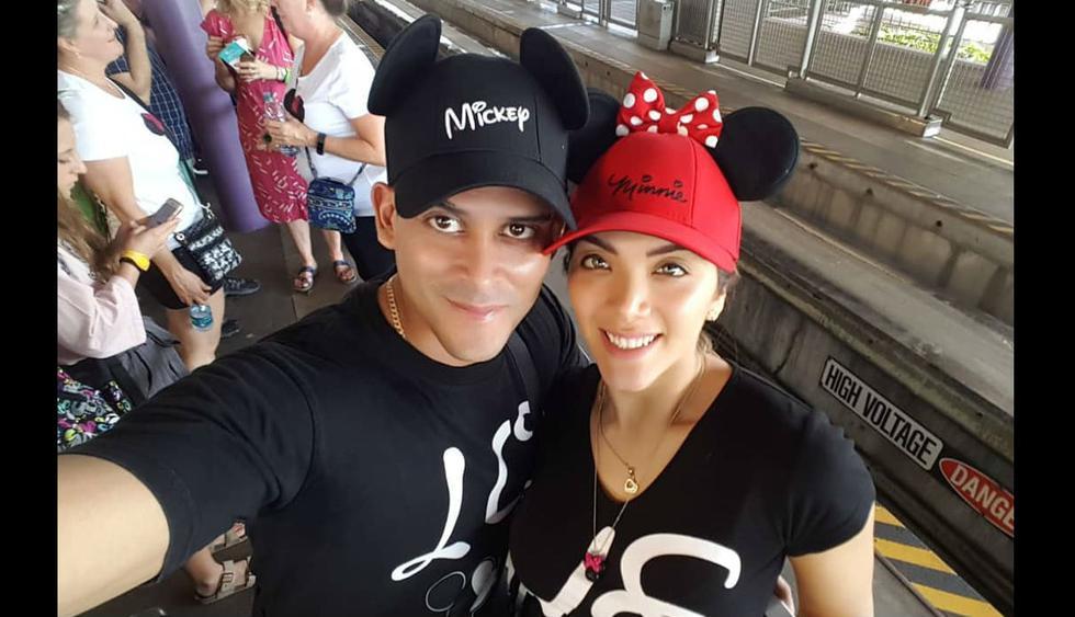 Christian Domínguez dijo que estaba decepcionado y triste y se fue a Disney.