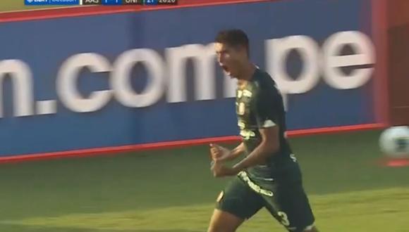 Leonardo Rugel, de 19 años, marcó el segundo de Universitario para victoria ante Alianza Atlético.