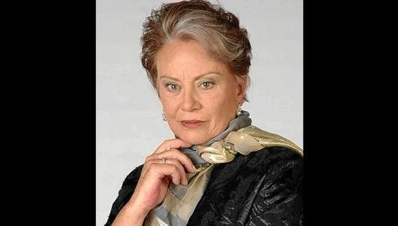 Actriz Saby Kamalich murió a los 78 años en México.