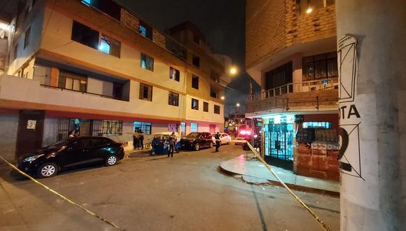 Cuadra 11 de la avenida La Alameda donde se desató la balacera.