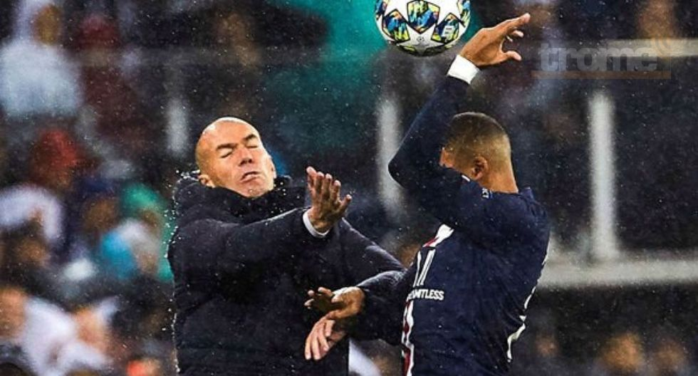 Zinedine Zidane elogia a Mbappé
