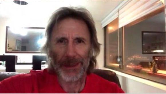 'El Tigre apareció en TV' con esta barba. (Captura Panamericana TV)