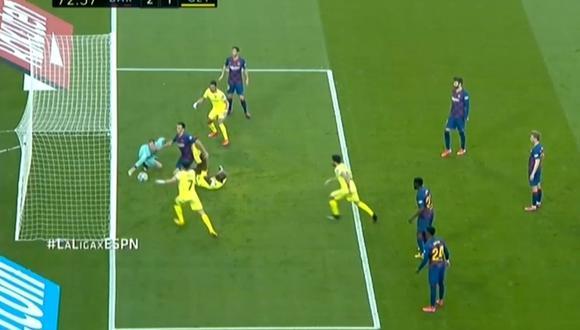 Ter Stegen en Barcelona vs Getafe por Liga Santander