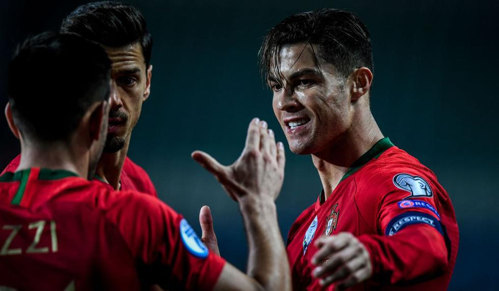 GOLAZOS y Triplete de Cristiano Ronaldo en el Portugal vs Lituania por las Eliminatorias Eurocopa 2020