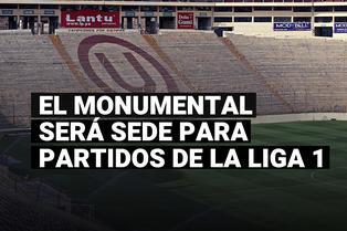 Estadio Monumental reabrirá sus puertas para partidos de la Liga 1