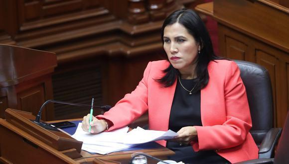 La congresista Flor Pablo presentó la iniciativa tras los incidentes por el uso de la lengua originaria este jueves durante el Pleno. (Foto: Archivo Agencia Andina)