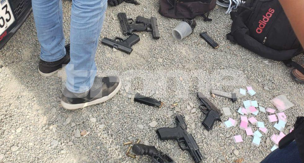 Entre los detenidos hay venezolanos, colombianos y peruanos. (Fotos: GEC)