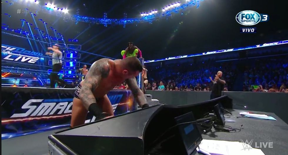 Kofi Kingston pasa por su mejor momento en WWE. (Captura Fox Sports)