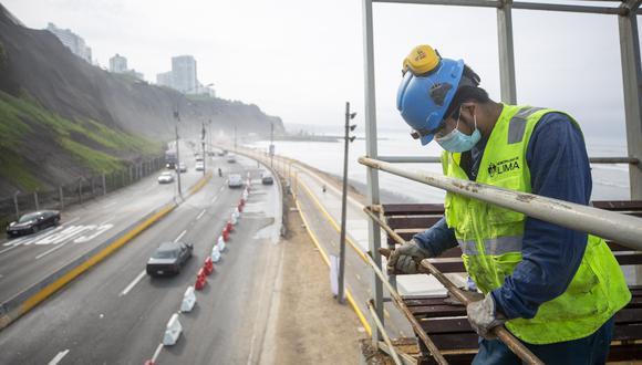 Los trabajos de mantenimiento desde San Miguel hasta Chorrillos, tendrán una duración de 10 días en horarios de 9 a.m. a 1:30 p.m. y de 9 p.m. a 4 a.m. (Foto: MML).