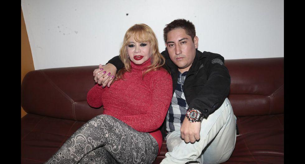 Susy Díaz y Walter Obregón (Foto: Trome)