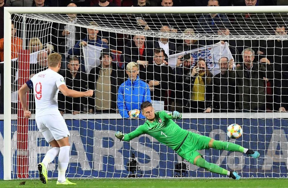 Inglaterra vs. República Checa se enfrentan en las Eliminatorias a la Eurocopa 2020. (Foto: AFP)