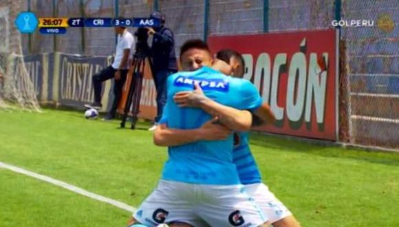 Cristal vs Alianza Atlético: Segundo gol de Cristian Ortiz