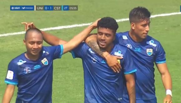 Gol de Álvaro Medrano en Universitario vs Carlos Stein por Liga 1