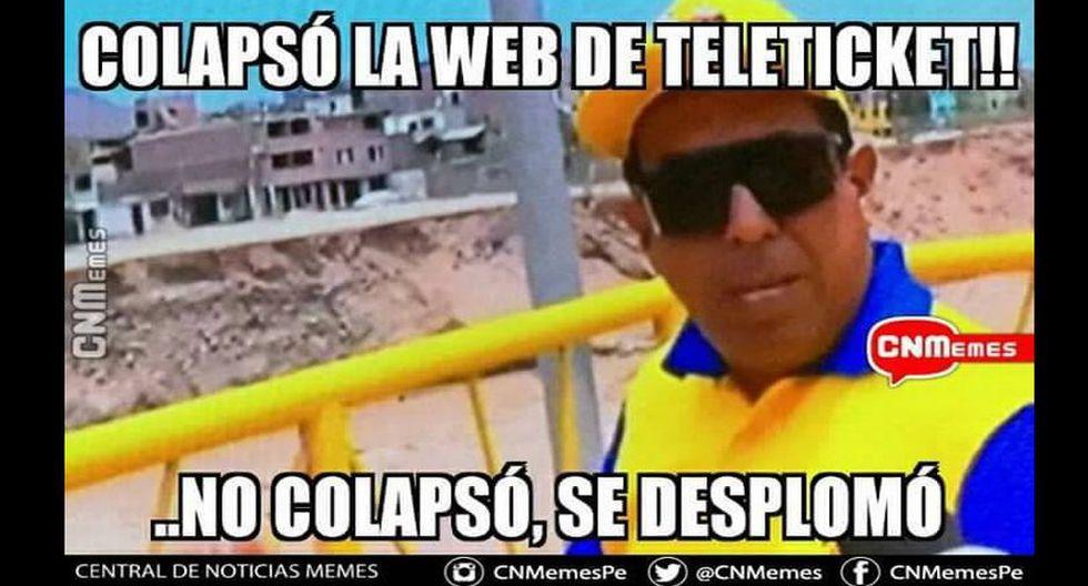 Perú vs. Colombia: divertidos memes parodian la 'eterna' cola virtual de Teleticket