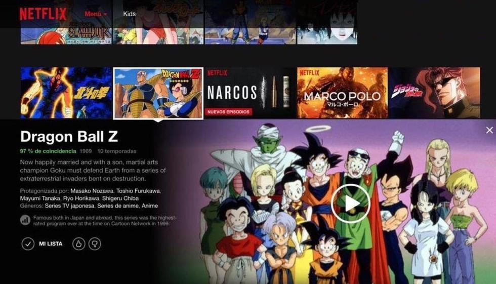 Dragon Ball Z Kai: todos los capítulos llegarán a Netflix