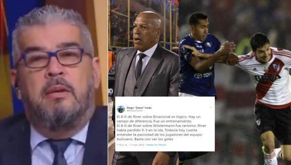 Fox Sports: Periodista Chavo Fucks recordó el 8-0 de Wilstermann de Roberto Mosquera con polémico tuit tras goleada de Binacional